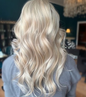 wavy, hair and style