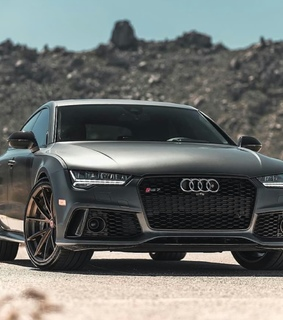 rs7, car and audi
