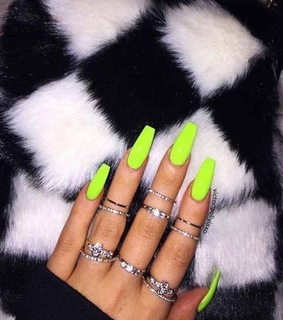 nails, cute and girly