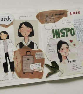 journal, pretty and journal ideas