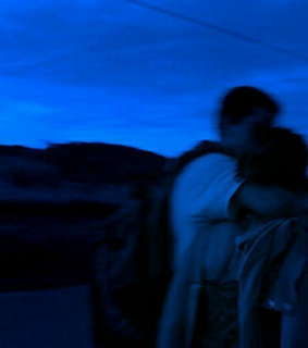 blue, couple and in love