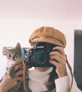 35mm film, animals and camera