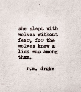 wolves, poetry and typewriter