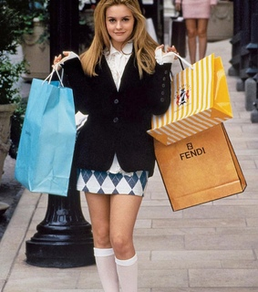 blonde, clueless girl and fashion