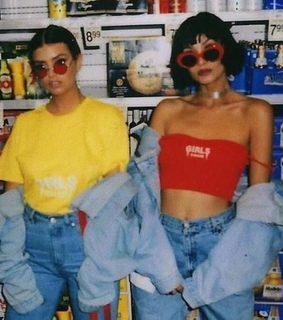 fashion, 80s and yellow