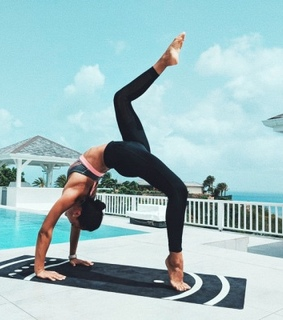 yoga, workout and fitness