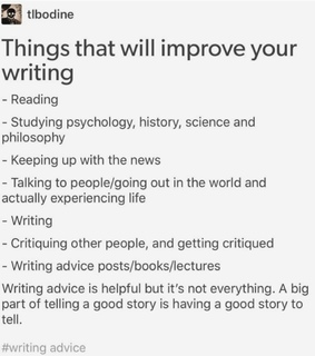 read, study and improve