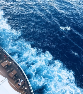 barco, blue and boat
