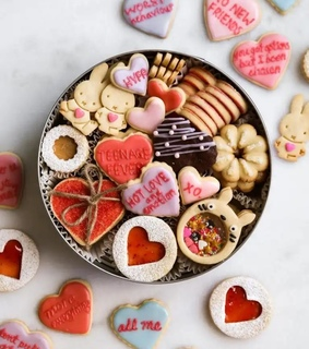 Cookies, amor and biscuits