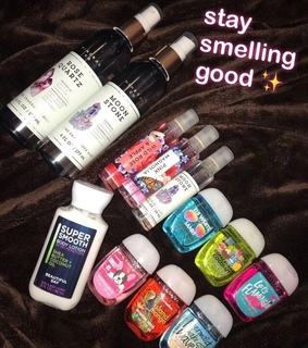 girls, perfume and products