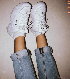 Fila, aesthetic and casual
