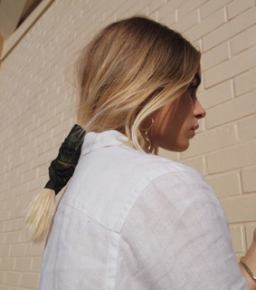 blond, hair and style