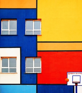 Basketball, aesthetic and architecture