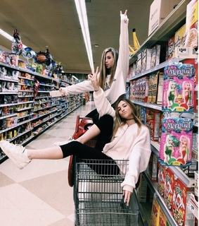 best friends and store