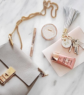 pink, fashion and glam