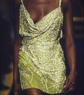 90s, Versace and dress