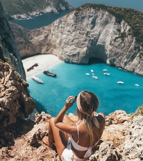 aesthetic, blue and sea