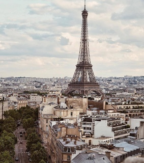 travel, paris and tower