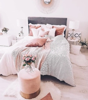 room rooms, bed bedroom and home house interior