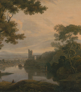 twilight, 18th century and castle