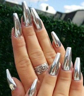 bling, manicure and nails