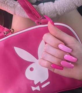 Playboy, bunny and nails