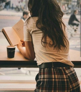balcony, books and coffee