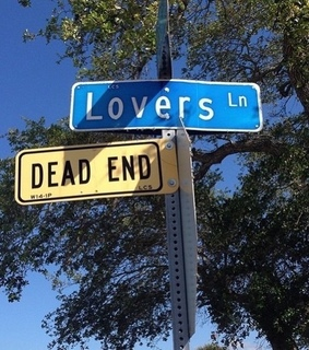 sign, dead end and cute