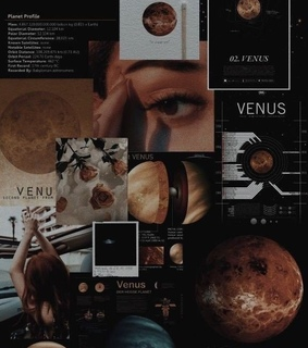Collage, Venus and aesthetic