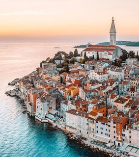 Croatia, adriatic sea and city
