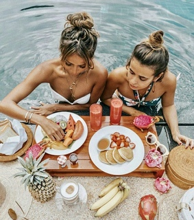 breakfast, fashion and food