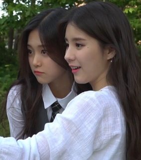 girl groups, choerry and heejin