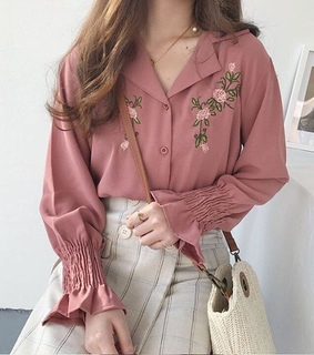 aesthetic, blouses and chic