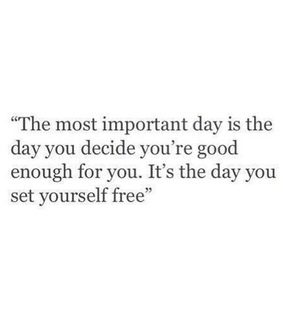 day and yourself