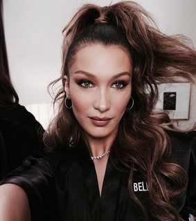 bella hadid, celebrities and chic