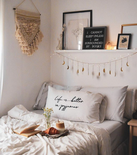 aesthetic, bed and bedroom