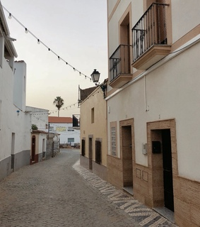 badajoz, buildings and caceres