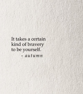 autumn, be yourself and books