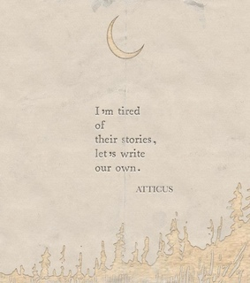 love, our own story and tired