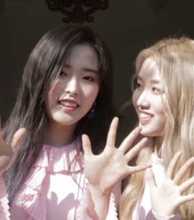 lq, olivia hye and son hyejoo