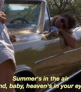 summer, west coast and love