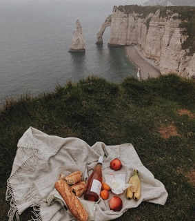 france, views and fruit