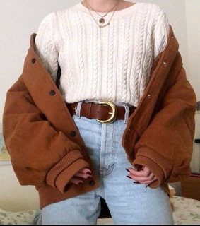 aesthetic, cozy outfits and fashion