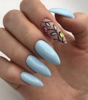 nail, gel and manicure