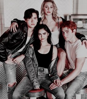 camila mendes, cole sprouse and icons