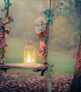 lantern, lights and romantic