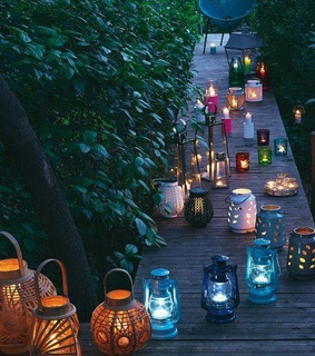 romantic, lantern and lanterns