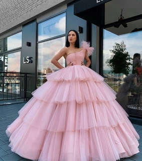 beautiful, dress and pink
