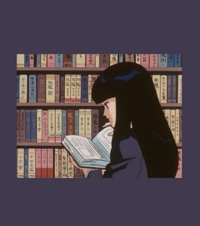 anime, books and grey