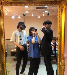 ulzzang, female and friends